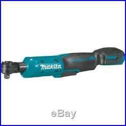 Makita RW01Z 12V MAX CXT 3/8 / 1/4 Inch Cordless Square Drive Ratchet -Bare Tool