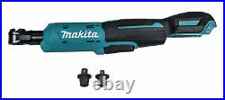 Makita RW01Z 12V MAX CXT Li-Ion Cordless 3/8 in. 1/4 in. Sq. Drive Ratchet