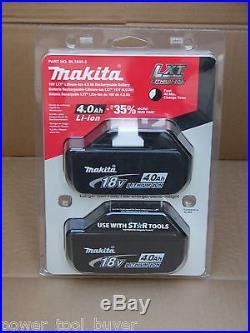 Makita Retail New BL1840-2 18V LXT Lithium Ion Genuine 2 Battery Blister Pack