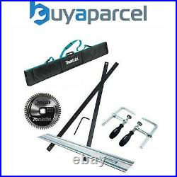 Makita SP6000 Plunge Saw Accessory Set Rail + Connector + Clamps + Bag + Blade