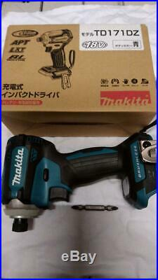 Makita TD171DZ Impact Driver TD171DZAR Authentic Red 18V Body Tool Only NEW