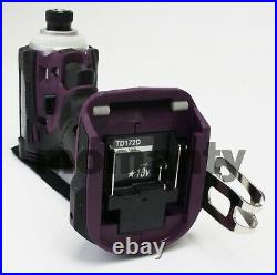 Makita TD172D Impact Driver TD172DZAP Authentic Purple 18V Body Tool Only