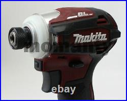 Makita TD172D Impact Driver TD172DZAR Authentic Red 18V Body Tool Only