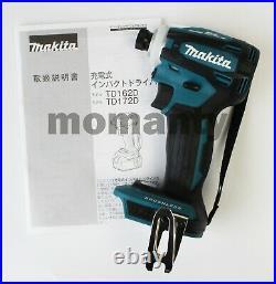 Makita TD172D Impact Driver TD172DZ Blue 18V Body Tool Only