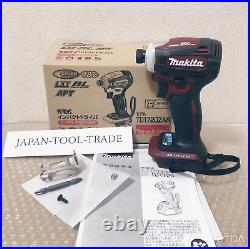Makita TD172D Impact Driver TD 172 DZ AR Authentic Red 18V Only Body and Box NEW