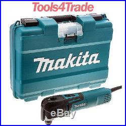 Makita TM3010CK 110V Oscillating Multi-Tool 320W with Tool-Less Accessory Change