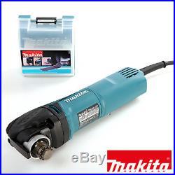 Makita TM3010CK Oscillating Multi-Tool Quick Change Blade 240V + 34pc Acc Set