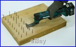 Makita TM30DZ CXT 12v Cordless Multi Tool Bare + 13pc Accessory Set + Makpac