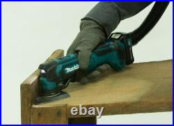 Makita TM30DZ CXT 12v Cordless Multi Tool Bare +15pc Plunge Blade Accessory Set
