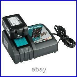 Makita Tool Combo Kit 18-Volt Lithium-Ion Cordless Battery Charger Bag (5-Tool)