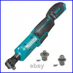 Makita WR100DZ 12V Max CXT Cordless Ratchet Wrench Angle Bare + Makpac Case