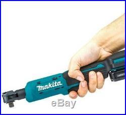 Makita WR100DZ 12V Max CXT Li-Ion Cordless Ratchet Wrench Angle Bare Unit