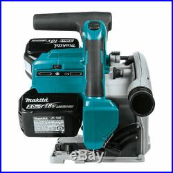 Makita X2 LXT 18V Lithium Ion 6.5 Inch Plunge Circular Saw, Tool Only(Open Box)
