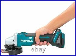 Makita XAG04Z 18V LXT Brushless 4-1/2 / 5 Angle Grinder (Tool-Only)