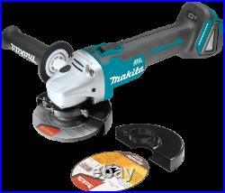 Makita XAG04Z 18V LXT Brushless Cordless 41/2 / 5 CutOff/Angle Grinder, Too