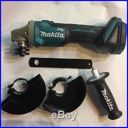 Makita XAG04Z LXT Li-Ion 18 volt Brushless 4 1/2 5 cordless grinder New