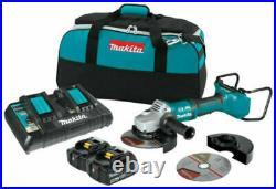 Makita XAG12PT1 36V Brushless 7 Paddle Switch Cut-Off/Angle Grinder Kit