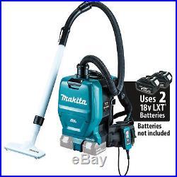 Makita XCV05Z 36V Brushless Cordless 1/2G HEPA Filter Backpack Vacuum