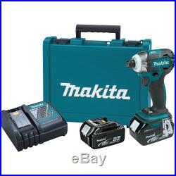 Makita XDT09M 18V LXT Li-Ion Brushless Quick-Shift Mode 3-Sp Impact Drive