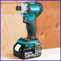 Makita XDT12Z 18-Volt 4-Speed LXT Lithium-Ion Cordless Impact Driver Bare Tool