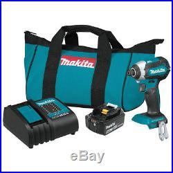 Makita XDT131 18-Volt 1/4-Inch 3.0Ah LXT Brushless Cordless Impact Driver Kit