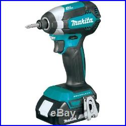Makita XDT13R-R Reconditioned 18V LXT Compact Brushless Impact Driver Kit 2.0 A