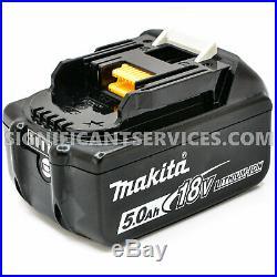 Makita XDT14Z 18V Li-Ion Brushless 3-Speed Impact Driver BL1850B 5.0 Ah Battery