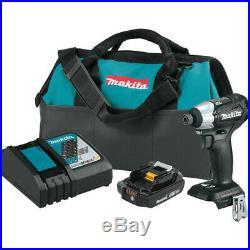 Makita XDT15R1B-R 18V LXT 2 Ah Li-Ion Sub-Compact BL Impact Driver Kit Recon