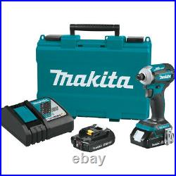 Makita XDT16R 18 volts LXT Compact Brushless Cordless 4 Speed Impact Driver Kit