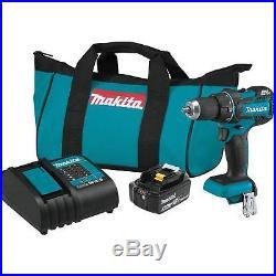 Makita XFD061 18V Compact Cordless 1/2-Inch Driver Drill Kit (3.0Ah)