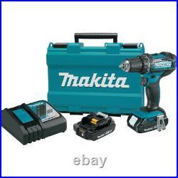 Makita XFD10RR 18V 2.0 AH LI-ION 1/2 IN. DRILL DRIVER KIT Certified Refurbished