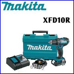 Makita XFD10R 18V LXT Lithium Ion Compact Cordless 1/2 Driver/Drill Kit (2.0Ah)