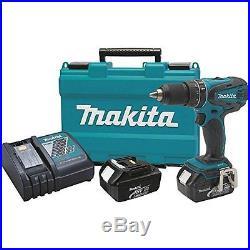 Makita XPH01 18V Lithium-Ion Cordless 1/2-Inch Hammer Driver-Drill Kit