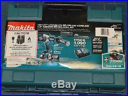 Makita XPH07MB 18V LXT Li-Ion Brushless Cordless 1/2 Hammer Driver-Drill Kit