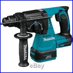 Makita XRH01Z 18V LXT Brushless 1-Inch SDS-PLUS Bits Rotary Hammer, Bare-Tool
