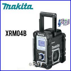 Makita XRM04B 18V LXT LithiumIon Cordless Bluetooth Job Site Radio, Tool Only