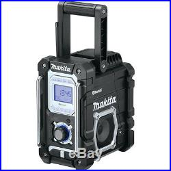 Makita XRM04B 18V LXT Lithium-Ion Cordless Bluetooth Job Site Radio, Bare Tool