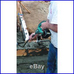 Makita XRV01 18-Volt 4-Feet 13,000 Vpm 58-1/2-Inch LXT Concrete Vibrator Kit