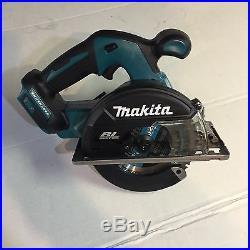 Makita XSC02Z 18 volt 5 7/8 Metal Cutting Circular Saw brushless LXT NEW
