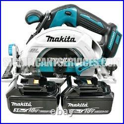Makita XSH03Z 18V LXT Brushless 6-1/2 Cordless Circular Saw 3.0 Ah Batteries