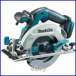 Makita XSH03 Cordless Brushless 6 1/2 Circular Saw 18 Volt W Blade