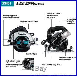 Makita XSH04ZB 18V LXT Sub Compact Brushless 6-1/2 Circular Saw, Tool Only New