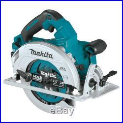 Makita XSH06PT1 36-Volt 5.0Ah X2 LXT Brushless Cordless Circular Saw Kit