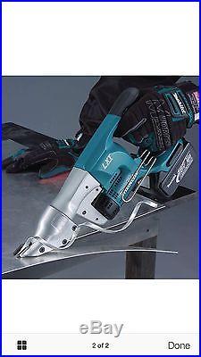 Makita XSJ01Z 18V LXT Li-Ion Cordless 18 Gauge Straight Shear, (Tool Only) NEW