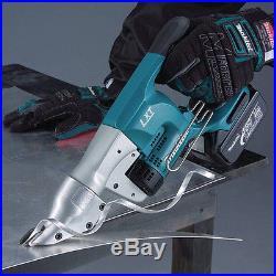 Makita XSJ01Z 18V LXT Lithium-Ion Cordless 18 Gauge Straight Shear, Bare Tool