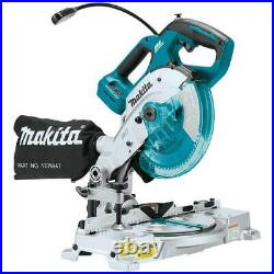 Makita XSL05Z 18-Volt LXT Dual-Bevel Compound Miter Saw with Laser Bare Tool