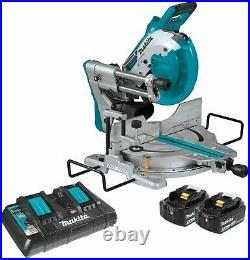 Makita XSL06PT 18v x 2 Brushless 10 Sliding Compound Miter Saw Laser Kit NEW