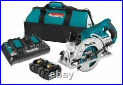 Makita XSR01PT 18V X2 LXT 36V Brushless Rear Handle 7-1/4 in. Circular Saw Kit
