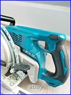Makita XSR01 18V X 2 LXT 36 Volt 7-1/4 Rear Handle Circular Saw BARE TOOL ONLY