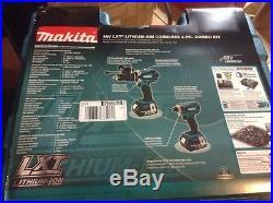 Makita XT218 18V LXT Lithium-Ion Cordless Combo Kit, 2-Piece UPC 088381685160